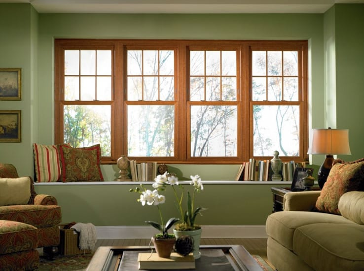Floor To Ceiling Window Accent Wall Wood Floor To Ceiling