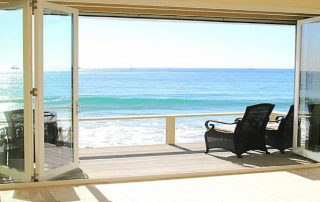 beach side bifold doors