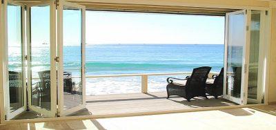 beach side bifold doors