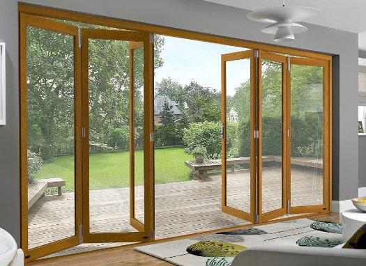 bi-fold doors at home
