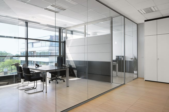 glass office meeting rooms