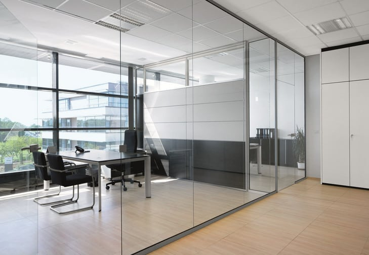 glass office cubicle partition manufacturers
