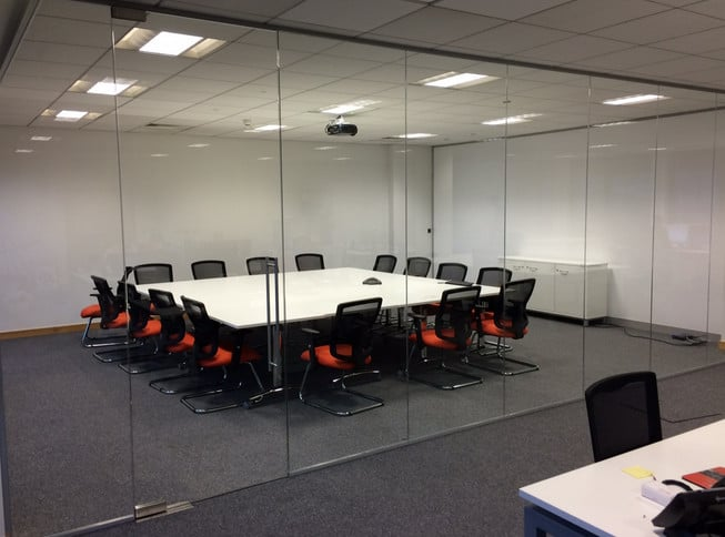 Office Glass Partitions Second Hand