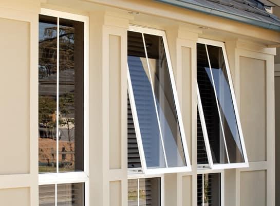 2 track aluminium storm windows