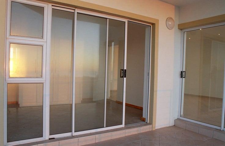 aluminium framd doors design