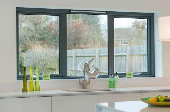 aluminium windows 2nd hand