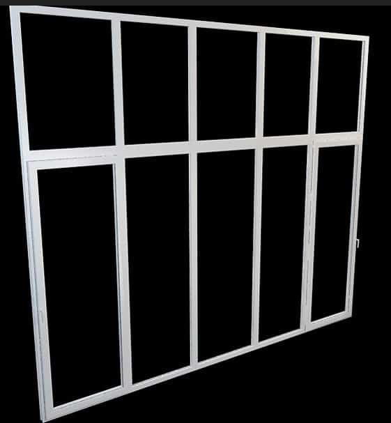 aluminium windows 3d model free
