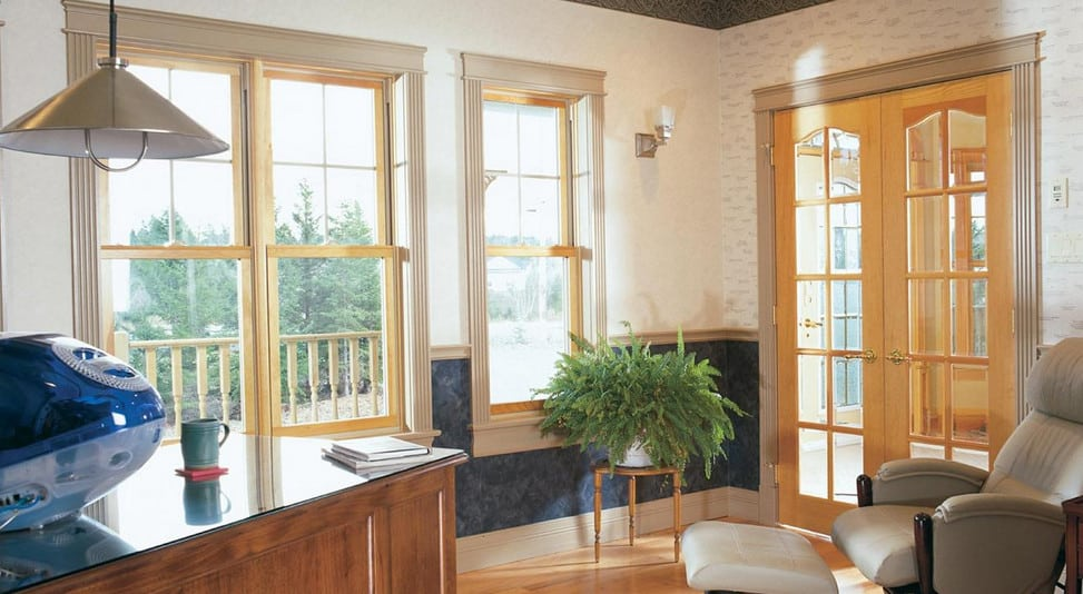 beautiful double hung windows in Sydney