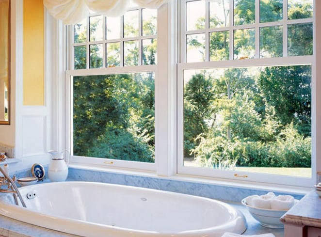 build a double hung window