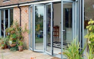 durable aluminium bilfold doors