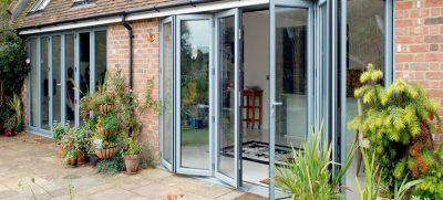 durable aluminium bilfold doors