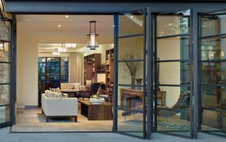 exterior bifolding glass doors