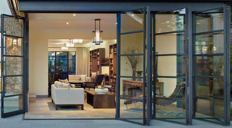 exterior bifolding glass doors