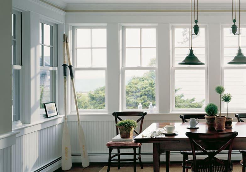single or double hung windows
