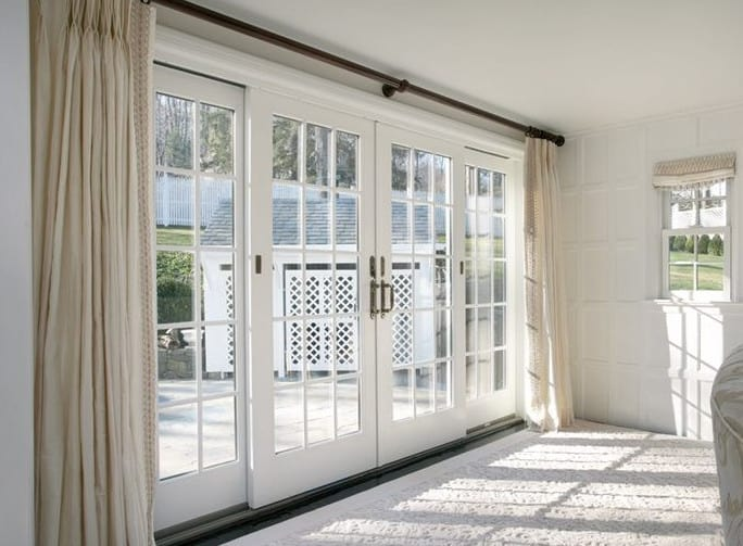 hinged patio door ideas