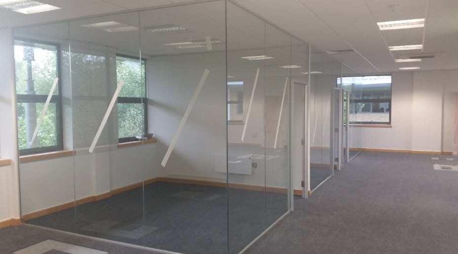 Clean Modern Glass Partitioned Meeting Rooms In Sydney CBD Office