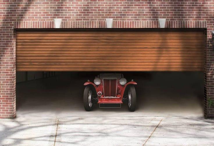 aluminium roller shutter garage doors