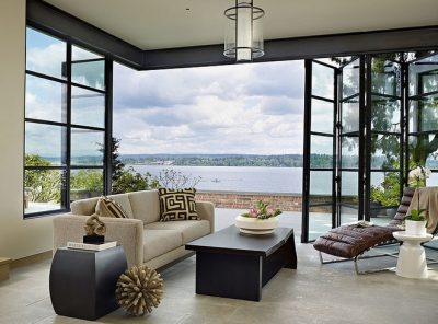 beautiful seafacing bifolding doors in Sydney