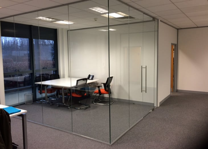 frameless glass door installation in Zetland NSW