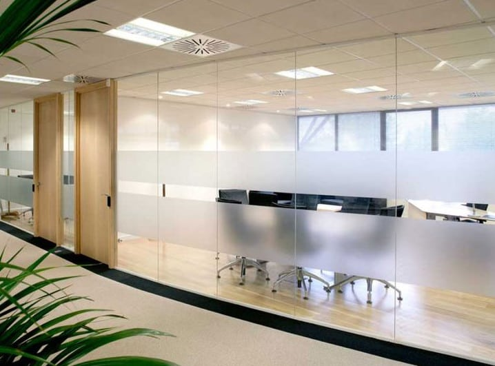 soundproofing your office with glass partition walls