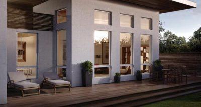 modern design for aluminium windows and doors
