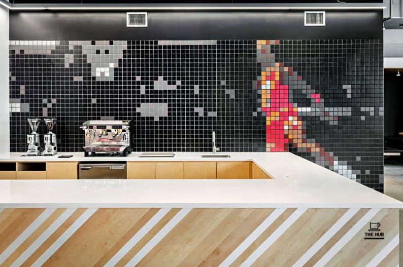 elegant office interior space design and renovation