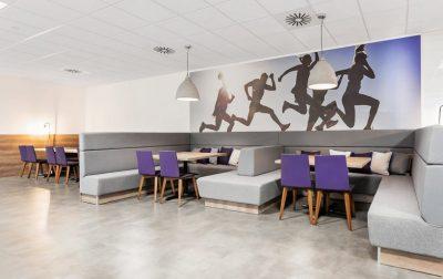renovating office staff meeting room
