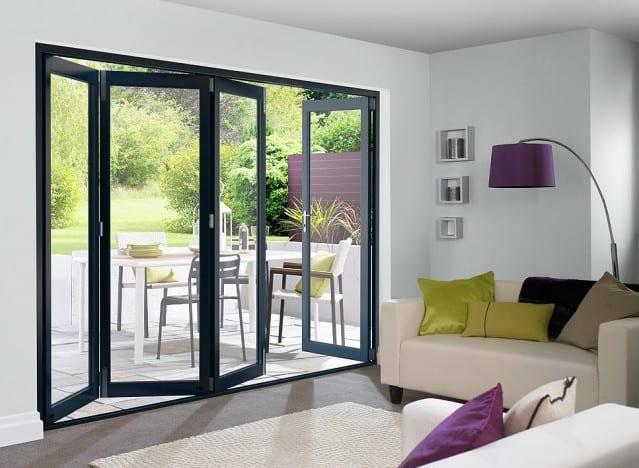 aluminium glass bifolding doors for your home