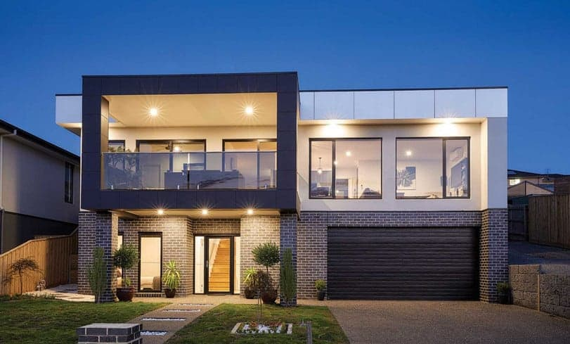 commercial aluminium windows installed in a residential property in sydney