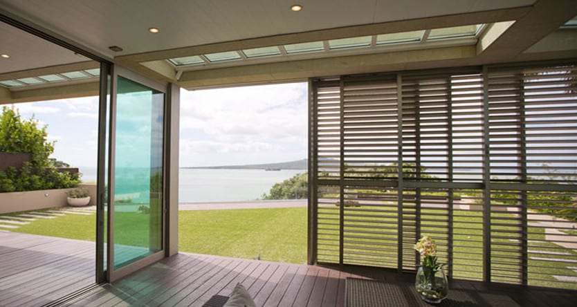 outdoor patio aluminium louvres