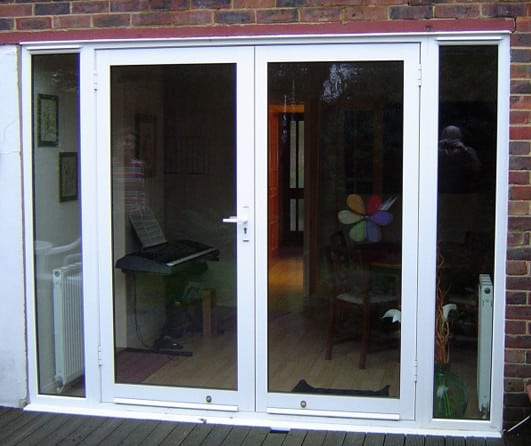 aluminium french glass doors for the house