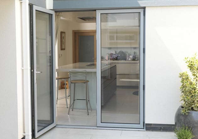 beautiful aluminium french doors installed at a home in Sydney