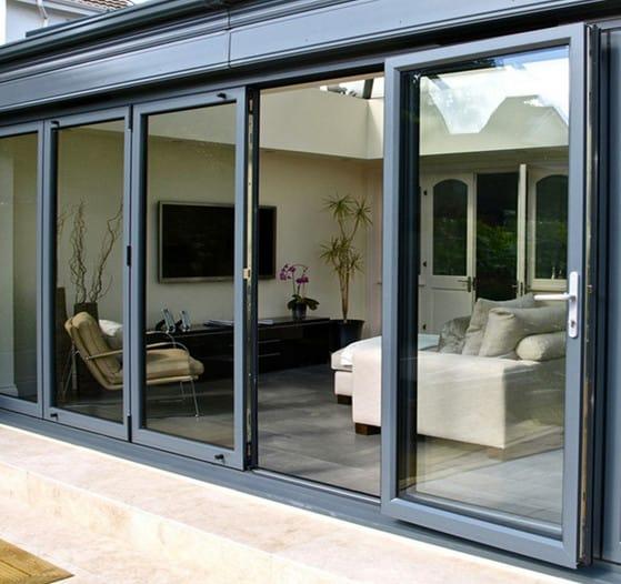 sliding aluminium glass doors for the house